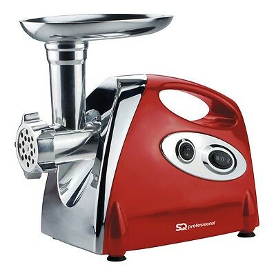 Stylish Lava Red Heavy Duty Electric Meat Grinder – SQ Professional