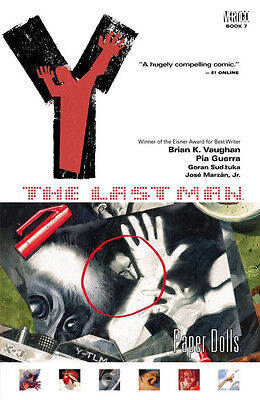 Y The Last: Man-Paper Dolls:  by Brian K. Vaughan  1st Ed P/B 2006 Vertigo