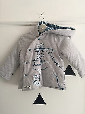 The Gruffalo Baby Jumper Grey 9-12months BNWT Sold Out At Debenhams