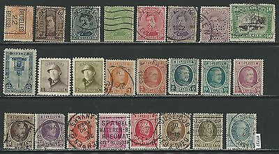 #7737 BELGIUM Interesting Lot of Older Issues mostly Used