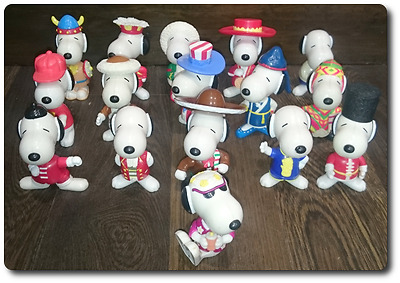 Collection Bundle Snoopy figures Tourist World 1999