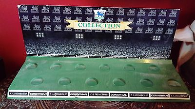Rare 1995 Corinthian Football 12 Player Figure Stand Backing Card Unboxed VGC