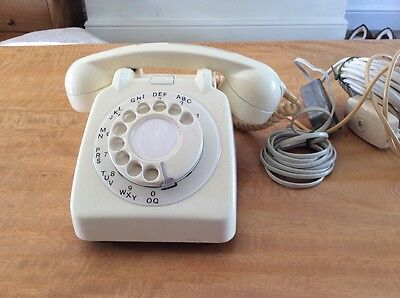 Genuine Retro GPO telephone Cream