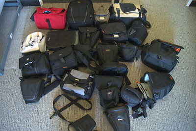 Generic 22 different lowepro camera lens bags for canon sony nikon olympus