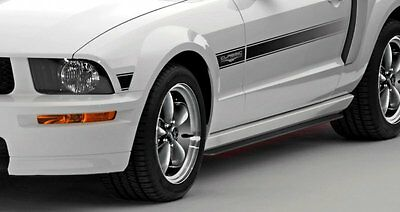 CDC 2005-2014 Fits Ford Mustang Side Splitters  0511-7007-01