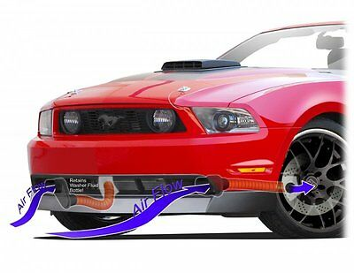 CDC 2010-2012 Fits Ford Mustang GT Chin Brake Duct Kit 1011-7013-01