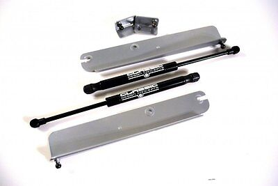 CDC 1999-2004 Fits Ford Mustang Hood Struts  Silver 0411-7012-35