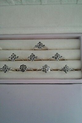 Clearance sale of silver rings