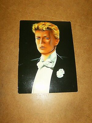 Ancienne carte postale / vintage postcard - DAVID BOWIE by Mal Watson - 80's