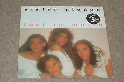 Sister Sledge ‎– Lost In Music       1984     DISCO CLASSIC!!