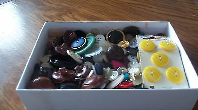 Vintage Button Mixed Lot