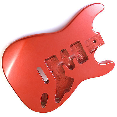 Candy Apple Red (metallic) alder guitar body for Stratocaster Strat