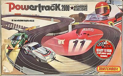 Matchbox Powertrack Pt2000 Monza - Fully Restored From Top To Bottom!