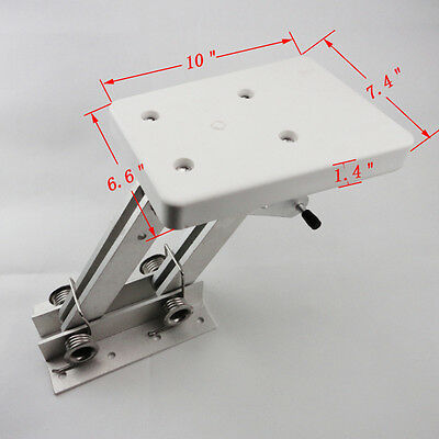 7.5hp-20hp Motor Bracket Duty Aluminum Outboard 2 Stroke Kicker White Stylish