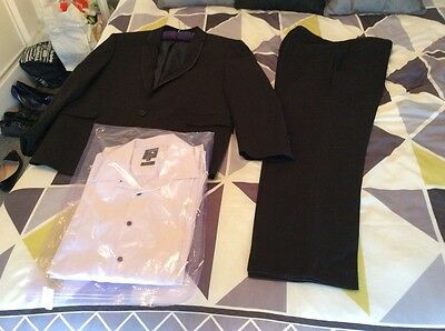 dinner suit with shirt