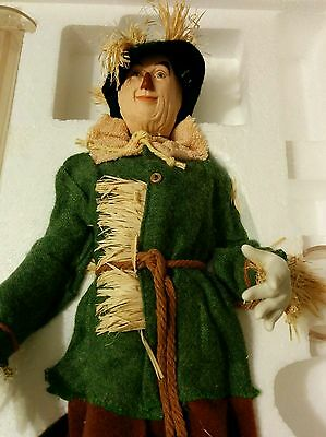 Timeless Treasures  Wizard Of Oz Porcelain Doll Scarecrow   Nrfb 2000