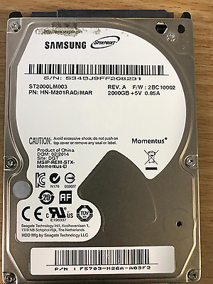 Wanted - samsung spinpoint 2TB m9t mobile sata drive new or used