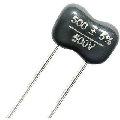 Silver Mica Capacitors  500v    See Drop down list for Values