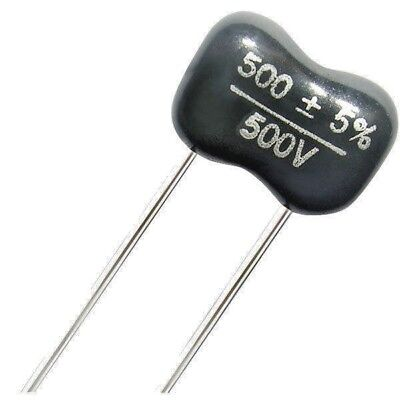 Silver Mica Capacitors Various Values  500v    See Drop down list for Values