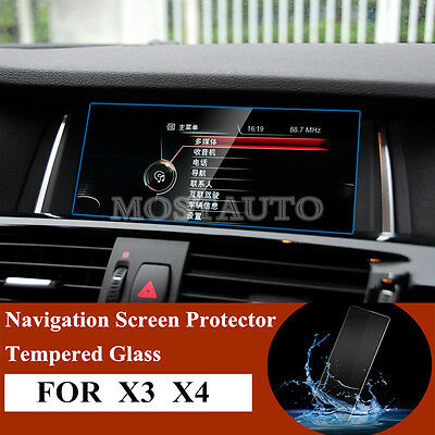 Premium Tempered Glass GPS Navigation Screen Protector For BMW X3 F25  X4 F26