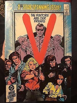 V - The Visitors Are Our Friends # 1 DC Comics February 1985