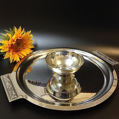 Retro Japan - Luckywood Florence 18/8 Stainless Steel -Serving Dip Tray Platter