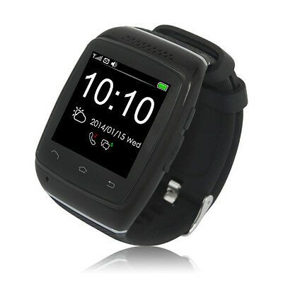 960205 Zgpax S12 1.54-Inch Touch Screen Mtk6260 Bluetooth Smart Watch Phone