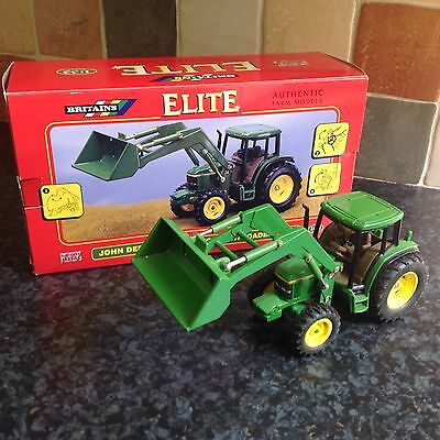 Britains Farm Toys John Deere 6210 Tractor With Loader 1:32 Scale