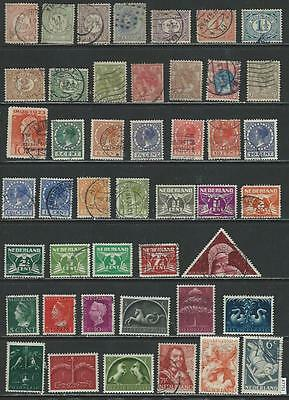 #7751 NETHERLANDS Lot Older Issues Used