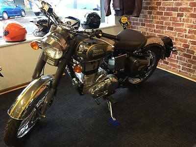 Royal Enfield Classic Chrome Motorcycle, Brand New