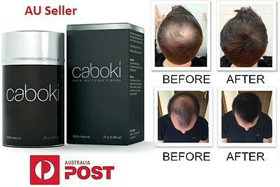 Black - CABOKI NATURAL HAIR LOSS BUILDING FIBRE FOR BOTH MEN & WOMEN