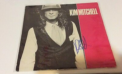 KIM MITCHELL - Self Titled Vinyl LP Record *Signed* Autographed! Max Webster