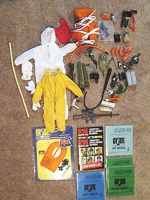 HUGE  LOT OF  ACTION  FIGURE    MISC. PIECES  AND  ACCESSORIES  12 in.