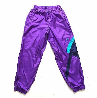 "Vintage 80's Shell Suit / Tracksuit Bottoms 30"" Waist / 33"" Leg"