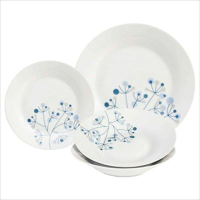 Sabichi 24 Piece Porcelain Dinner Set Crockery Dining Set Plates Dishes Gift New