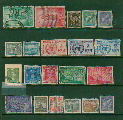 Philippines collection all used stamps  1946 and up