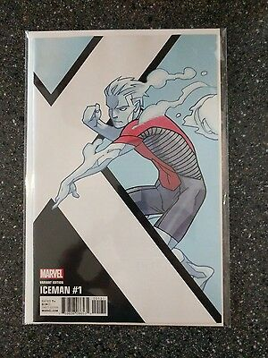 Iceman #1 Kirk Corner Box Variant X-Men Marvel Comics 6/7/17 Near Mint
