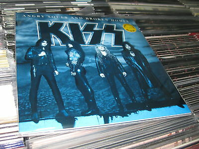 Kiss 3 Lp Angry Souls And Broken Home Color Vinyls  180 Grams   29/11/1992 Promo