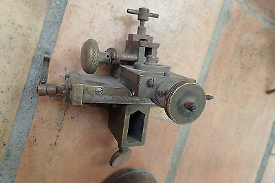 tour horloger a banc pièce rare bronze watchmakers bergeon lorch?