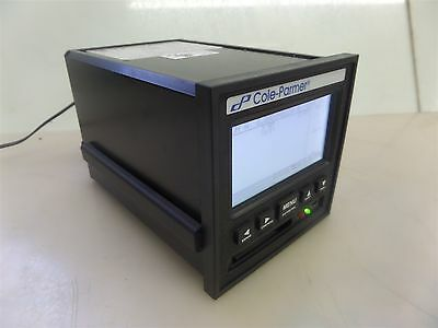 Cole-Parmer 80816-02 Two Channel Electronic Paperless Data Recorder