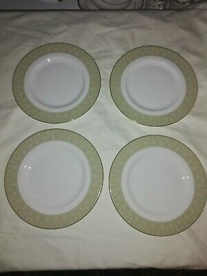 Royal Doulton Sonnet Salad/side Plates 8 Inches X 2 In Excellent Condition