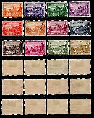 Norfolk Islands. Gvi. 1947. 1 Set Of 12 Stamps. M/mint.