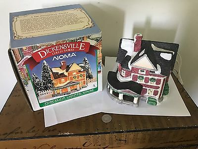 Dickensville Porcelain NOMA Lighted House 1990 No. 6153