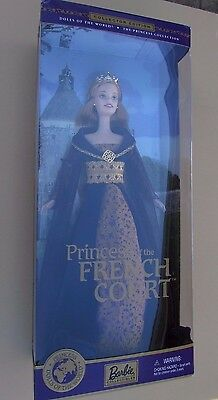 MATTEL 2000 Barbie DOLLS OF THE WORLD Princess of the FRENCH COURT NRFB  #28372