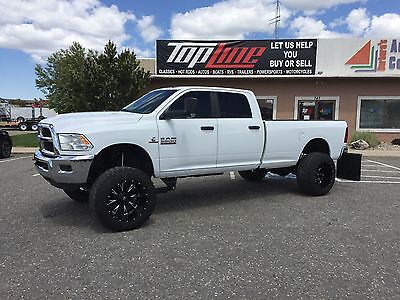 """2014 Ram 3500 SLT 2014 SLT 3500 Ram diesel Lifted Exhaust and DEF delete already done. 37"""" tires!"""