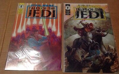 Star Wars/ Tales Of The Jedi, Dark Horse Comics Issue 1 And 2