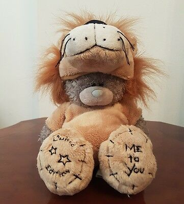 """8"""" Me to you  Limited Edition Lion Costume  Cert 0912 ♡ Tatty Teddy Bear  #TT13"""