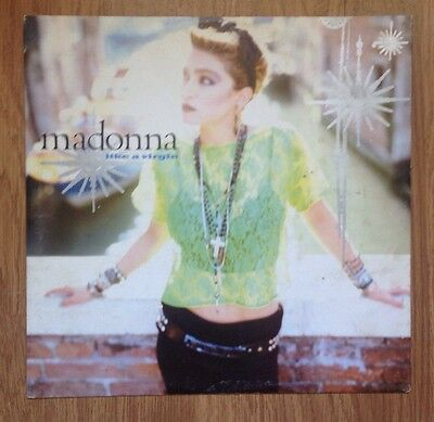 "Madonna - Like A Virgin 12"" Rare Single Vinyl Jellybean Dance Remix House DJ"