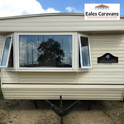 Willerby Bermuda | 2000 3 Bed Double Glazed & Central Heating Static Caravan