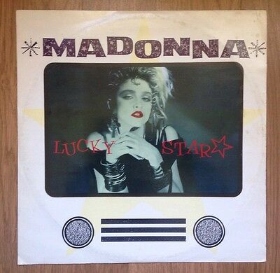 "Madonna - Lucky Star 12"" Single Vinyl Rare Record 1983 Original 80's Classic DJ"